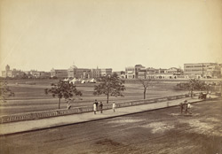 Govt. House at corner of Maidan, Calcutta.